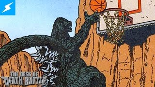 Godzilla Got Dunked on by Charles Barkley??? | The Desk of DEATH BATTLE