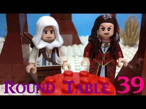 BrickQueen's LEGO Round Table 39 with Connor from Assassin's Creed 3