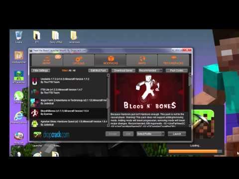 Como baixar e instalar os Launchers de Minecraft Pirata(FTB,Technic,Void's Wrath)