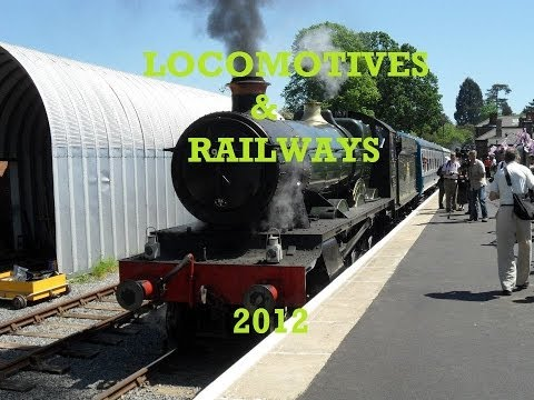LOCOMOTIVES & RAILWAYS - 2012