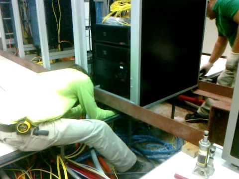 Vanderbilt Data Center - Removing Floor From Under Racks