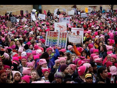 Дональд Трамп отреагировал в твиттере на Марш женщин на Вашингтон