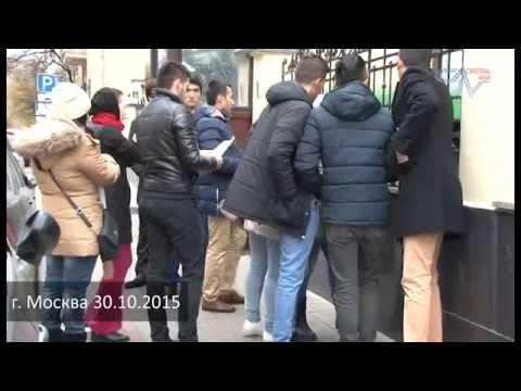Молодежь почтила память Умарали Назарова у посольства Таджикистана