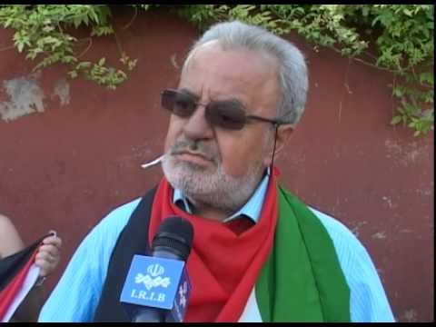 Roma. Sit in per la liberazione di Allan, detenuto palestinese  nelle carceri israeliane
