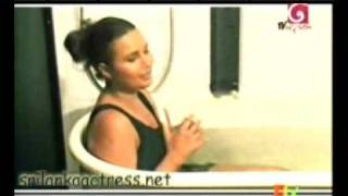 Sri Lanka Actress  Bikini Model Miss world  Rozan Dias Oile Massage and Bathing | part-4 |