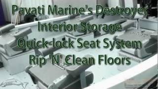 Pavati Marine Video: Storage, Removable Seats & Floors