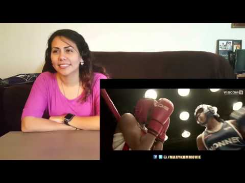 Mary Kom - Official Trailer Cynthia's Reaction Priyanka Chopra in & as Mary Kom