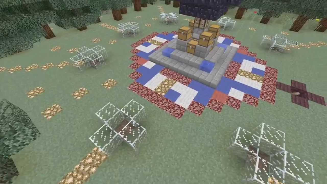 how to make hunger games in minecraft xbox