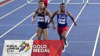 Athletics Men's 400m Hurdles - Final | 29th SEA Games 2017
