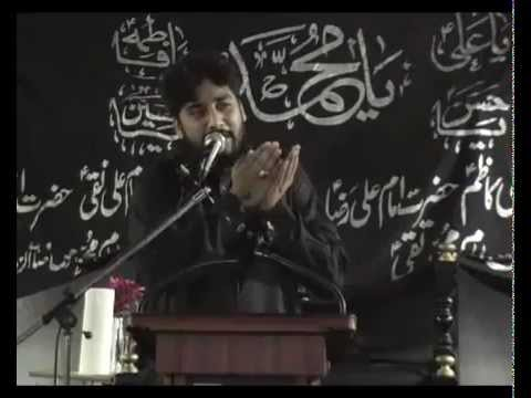 Zakir Waseem Abbas Baloch (10th August 2012) (shahadat Moula Ali A.s) Newport Uk video