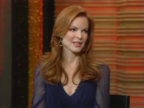 marcia cross ~ Regis and Kelly Oct.27 2008