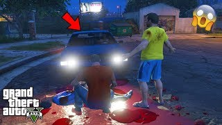 GTA 5 - DON'T Drive CJ's GHOST Car at 3AM (scary easter egg)