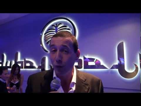 Alessandro Greco Presenta Valeria Marini Nina Moric Cosima Coppola e altri VIP a Dubai Palace Roma