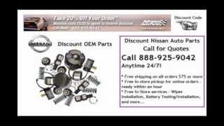 Discount Nissan Auto Parts - 24/7 Quotes - Free Shipping