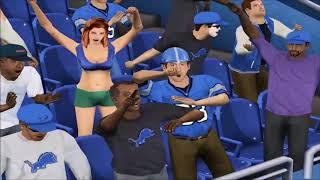ESPN NFL 2K18 | Packers vs Lions