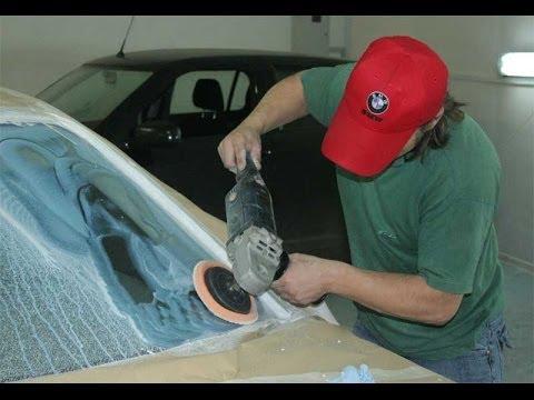 Как полировать автомобиля видео