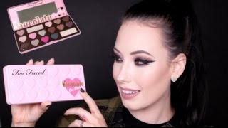 REVIEW + TUTORIAL + SWATCHES: TOO FACED Chocolate Bon Bons Palette 2015 | lesleydoesmakeup