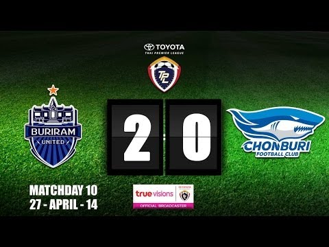 TPL 2014 - Buriram United 2 - 0 Chonburi (27-04-2014)