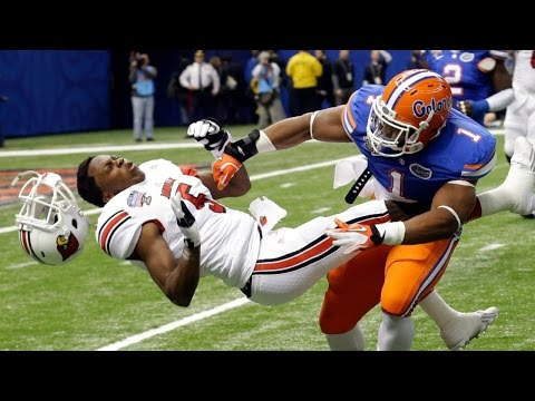 NFL/College Football's Biggest Hits and Best Plays Compilation - 2015