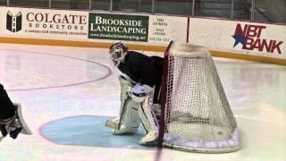 Men's Ice Hockey National Player of the Month Colgate's Charlie Finn