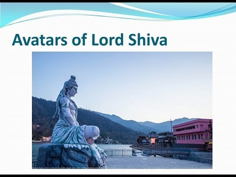 19 Avatars Of Lord Shiva video