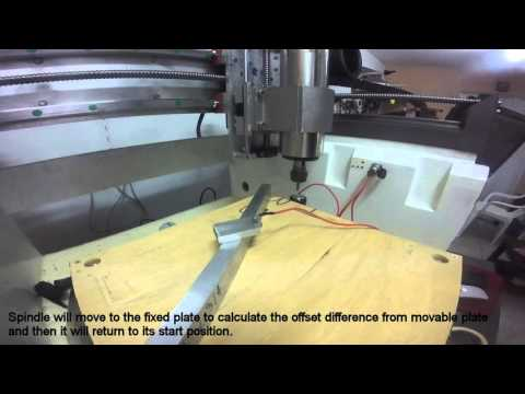 Auto Tool Zero (Movable And Fixed Plate) - MACH 3