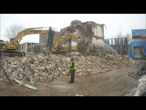 Kidder Wrecking: Lawrence, Ma Court House Demolition