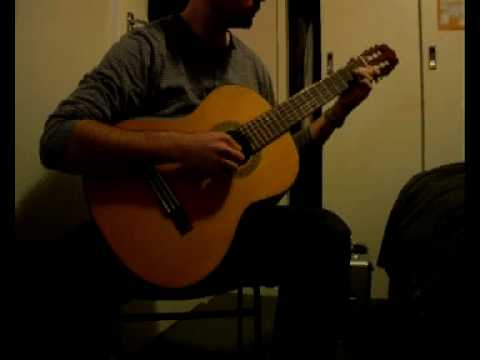 Classical Guitar Etude in A minor - Dionisio Aguado