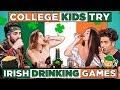 College Kids Try Irish Drinking Games | React