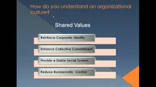 Organizational Culture and Innovation