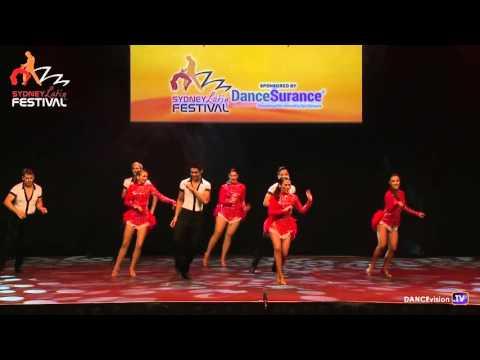 2016 Sydney Latin Festival.  Team Salsa Salsabrosa (Salsa Latina)