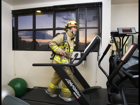 Firefighter to run marathon in full gear for kids with cancer