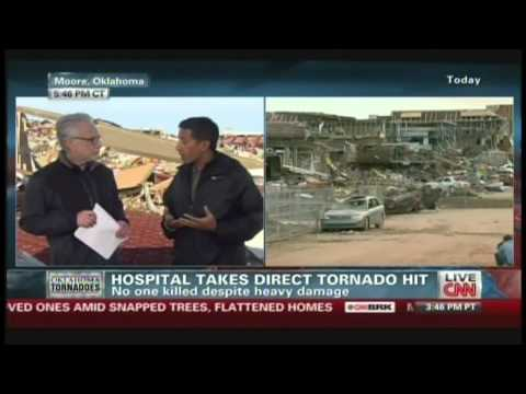 FEMA arrives in Oklahoma disaster zone, hospital takes direct tornado hit, (May 21, 2013)