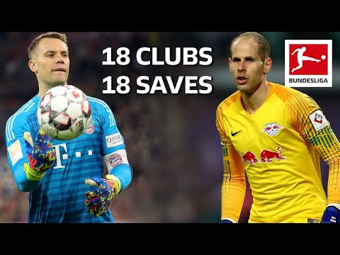 18 Clubs, 18 Saves - The Best Save by Every Bundesliga Team in 201819