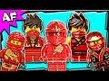 Lego Ninjago Kai RED NINJA Minifigures Complete Collection