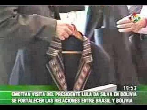 Visita de pdte. Lula Da Silva a Bolivia fortalece relaciones