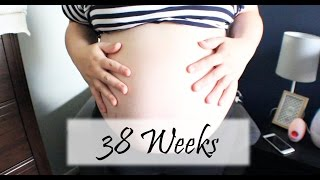 38 WEEKS | HAVING CONTRACTIONS?! - Pregnancy Update Baby #2