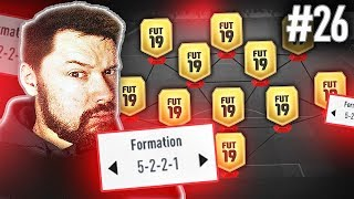 THIS FORMATION IS BROKEN! - #FIFA19 ULTIMATE TEAM DRAFT TO GLORY #26