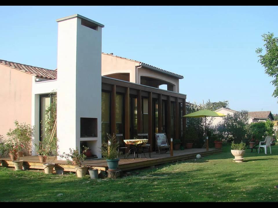 Extension maison en ossature bois jardin d 39 hiver youtube - Youtube jardin d hiver ...