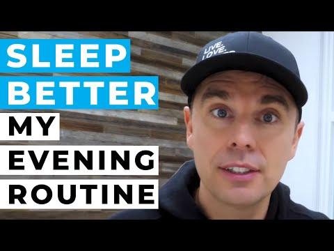 Sleep Better: My Evening Routine