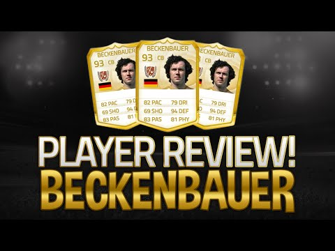 Fifa 15 Franz Beckenbauer Review BEST DEFENDER ULTIMATE TEAM
