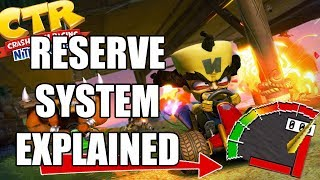 Science Behind the RESERVE System of Crash Team Racing