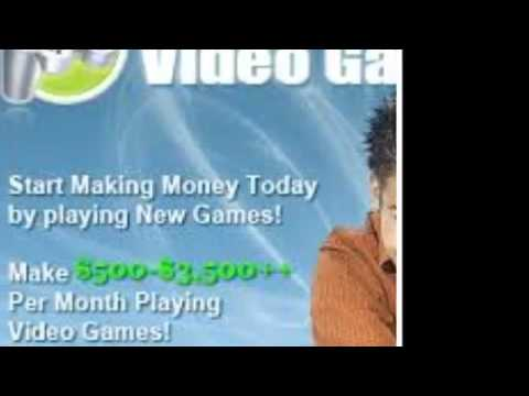How to make money online - Video Game Tester Job