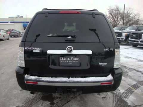 2006 mercury mountaineer 4dr premier w 4 6l awd youtube. Black Bedroom Furniture Sets. Home Design Ideas