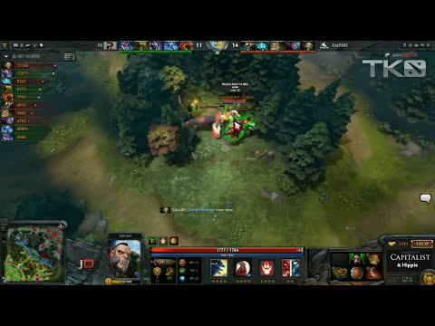 Empire vs Power Rangers Game 2 - MLG TKO Dota 2 - Capitalist & Hippie
