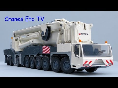 Cranes Etc TV: Conrad Terex AC 1000 Mobile Crane Review