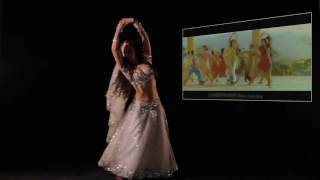Romantic dance ORE PIYA by Sania from China