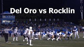 Del Oro vs Rocklin V FB 2016