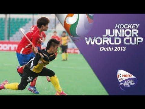 Malaysia vs Korea - Men's Hero Hockey Junior World Cup India Quarter Finals [12/12/2013]
