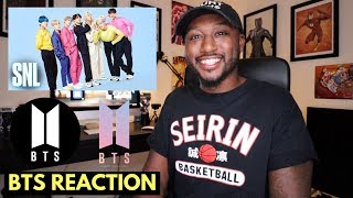 BTS Drop Mic (Live) - SNL Reaction Video